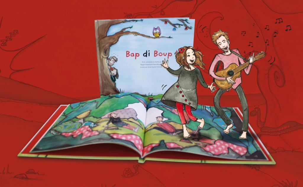 Imprim'Services à Laval imprime le livre Bap Di Boup
