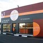 Imprim'Services réalise des enseigne sur du dibond et des lettres découpées pour les façades des commerces